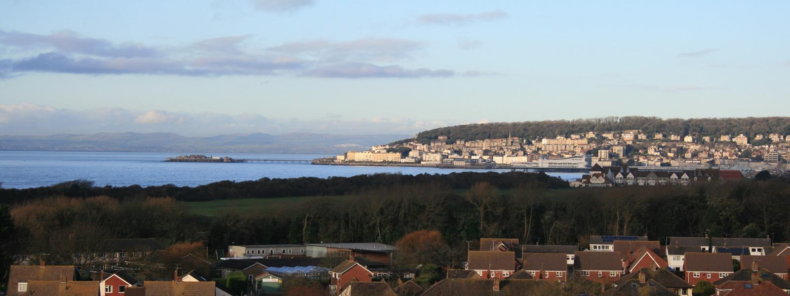 Weston-super-Mare bay